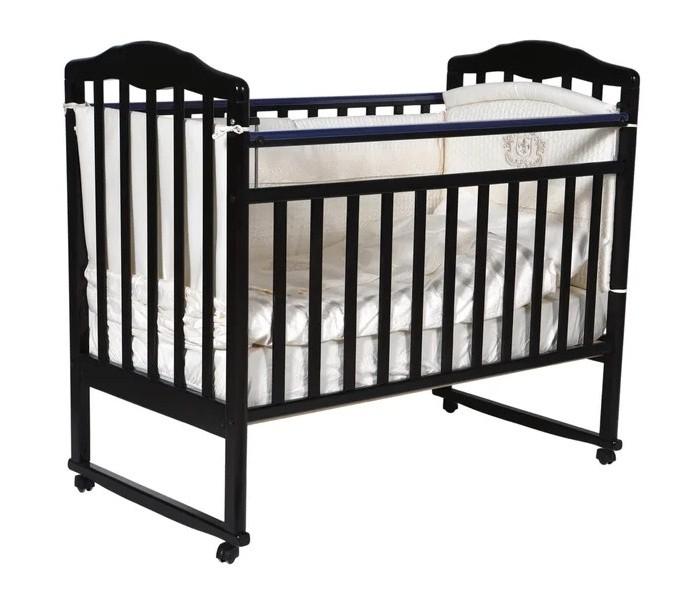 Купить Детские кроватки, Детская кроватка Кедр Helen 1 колесо качалка