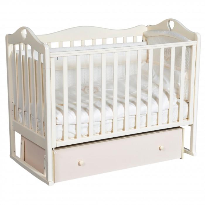 Детская кроватка Кедр Karolina 7 (универсальный маятник)