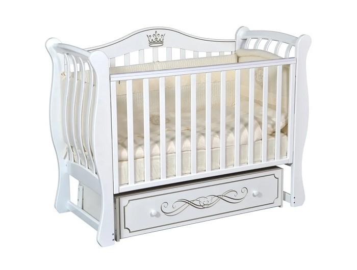 Купить Детские кроватки, Детская кроватка Кедр Bella 2 универсальный маятник
