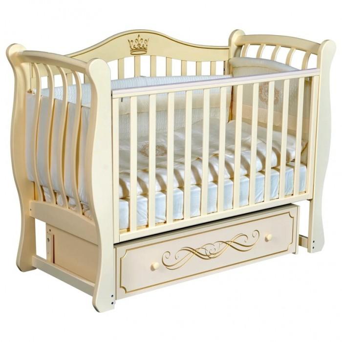 Детская кроватка Кедр Bella 2 универсальный маятник фото