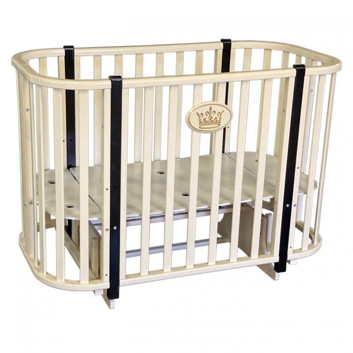 Купить Кроватки-трансформеры, Кроватка-трансформер Кедр Estelle 2 (поперечный маятник)