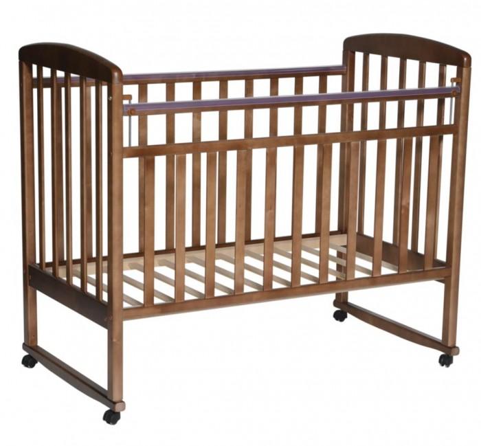 Детские кроватки Кедр Любаша 1 (колесо качалка), Детские кроватки - артикул:564691