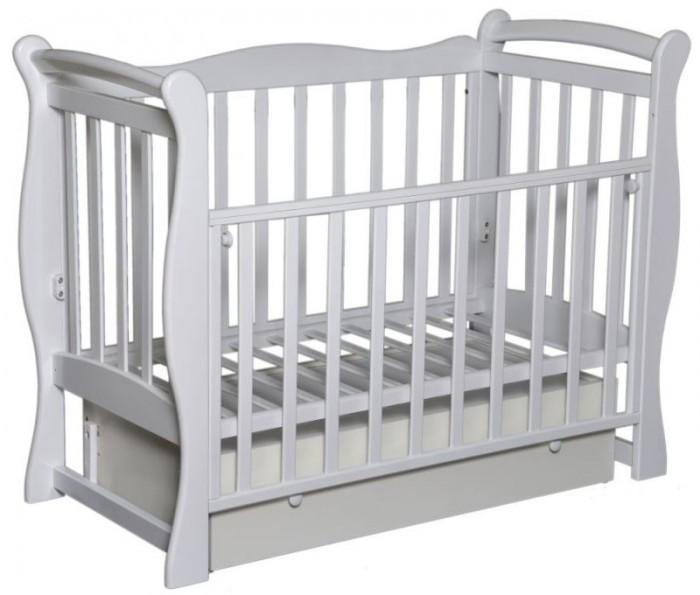 Детские кроватки Кедр Любаша-5 (поперечный маятник)