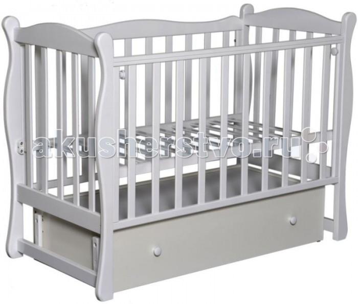 Детские кроватки Кедр Любаша-6 (поперечный маятник)