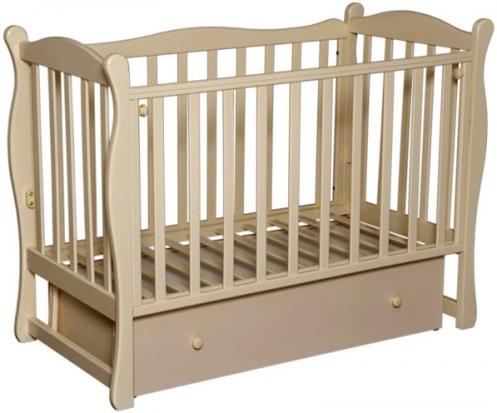 Купить со скидкой Детская кроватка Кедр Любаша-6 (поперечный маятник)