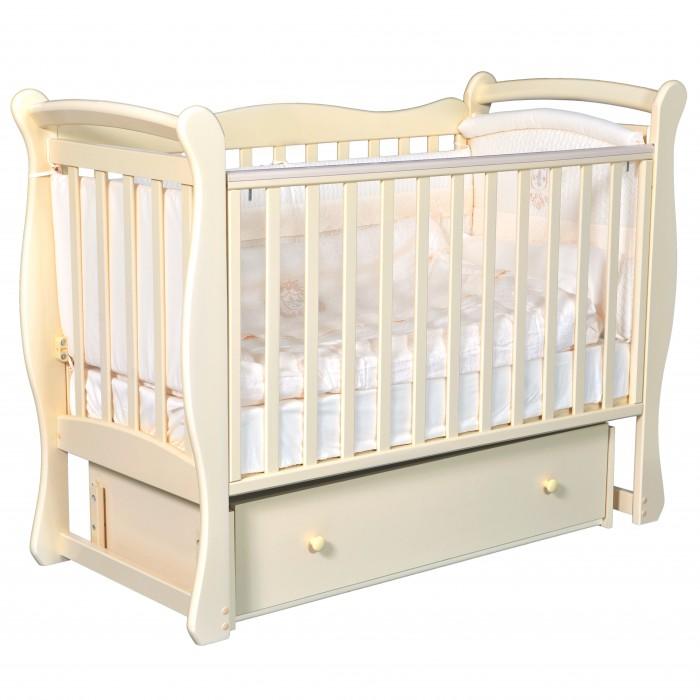 Детская кроватка Кедр Viola 1 (универсальный маятник) фото