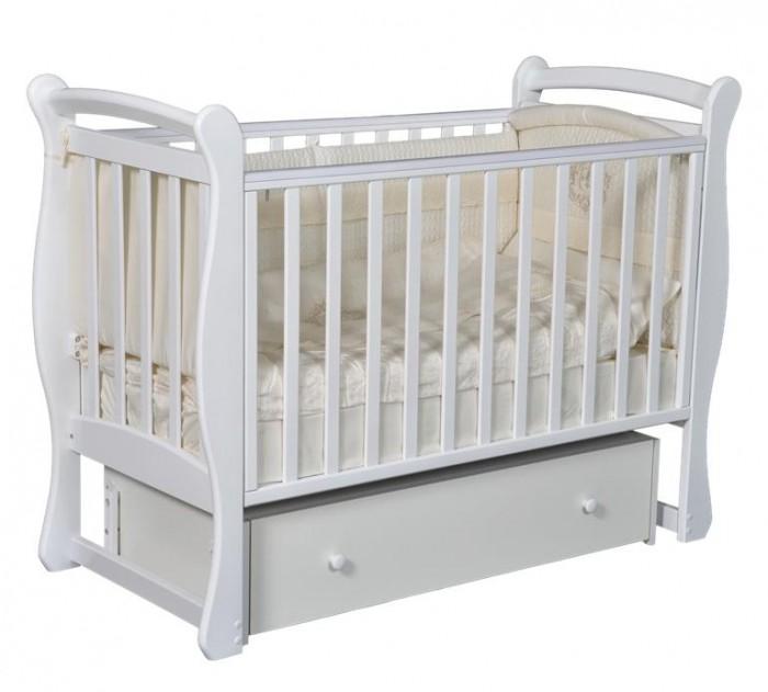Купить со скидкой Детская кроватка Кедр Viola 2 (универсальный маятник)