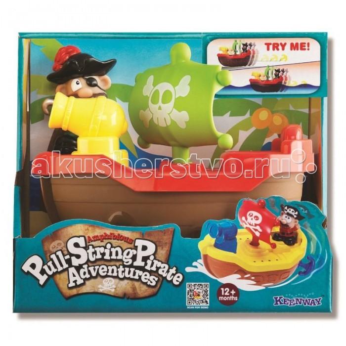 Игрушки для ванны Keenway Игрушка для купания Пират игрушки для ванны сказка игрушка для купания транспорт
