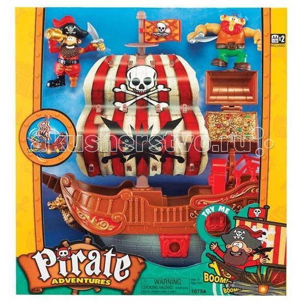 Keenway Игровой набор Приключение пиратов. Битва за остров