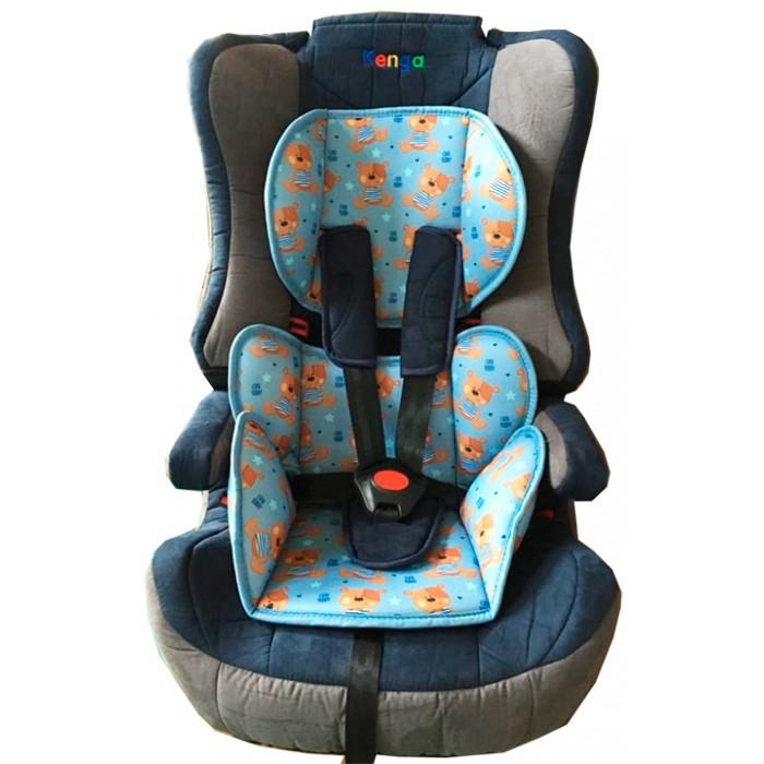 Автокресло Kenga LD02LD02Автокресло Kenga LD-02 подойдет для детей весом до 36 кг и возрастом до 12 лет. Благодаря этому, кресло LD02 станет выгодным приобретением на много лет, ведь когда ребенок подрастет, с кресла можно буде просто снять спинку и превратить его, таким образом, в удобный бустер.   Из-за своей возможности трансформироваться, кресло входит в группы 1, 2 и 3 — группы по которым делятся автокресла, в зависимости от веса и возраста детей, на которые они рассчитаны.  У кресла LD02 есть мягкая вставка, обеспечивающая малышу дополнительный комфорт, а широкие подлокотники добавят ему удобства. Подлокотники и спинка кресла надежно защитят плечи и голову ребенка при встрясках во время езды.   Само автокресло изготовлено из ударопрочных материалов и оснащено прочными 5-точечными ремнями безопасности, с широкими мягкими вставками. Высокий уровень безопасности достигается также за счет глубины подголовника и усиленной боковой защиты спинки.  Чехлы кресла — съемные, их можно стирать в стиральной машине при температуре 30 градусов.  Автомобильное кресло Kenga устанавливается в машине лицом вперед и крепится с помощью надежных ремней, входящих в комплект. Подголовник нельзя регулировать по высоте.<br>