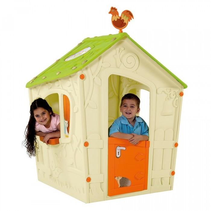 Купить Игровые домики, Keter Игровой Дом Magic Волшебный с Петушком 110x110x146 см