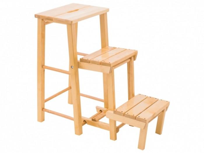 Кресла и стулья Kett-Up Табурет стремянка Loft с тремя ступенями стремянка табурет 2 ступени hailo