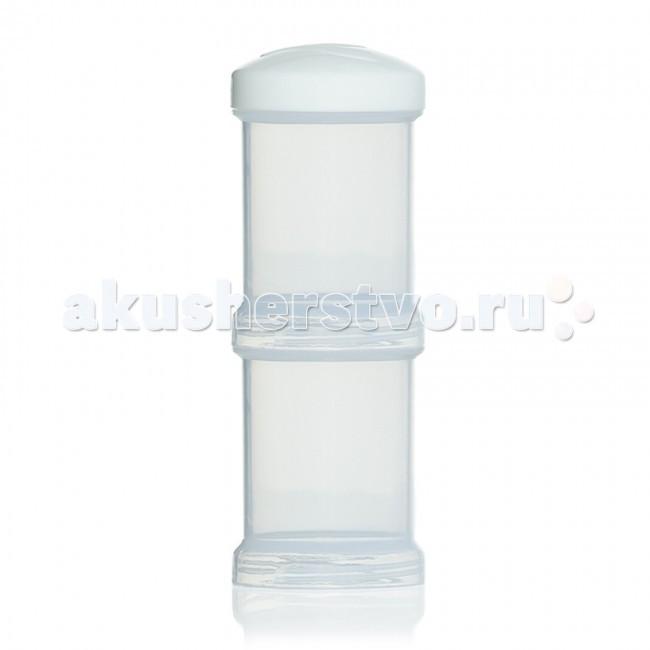 Контейнеры Twistshake Контейнер для сухой смеси 2 шт. 100 мл контейнер для смеси