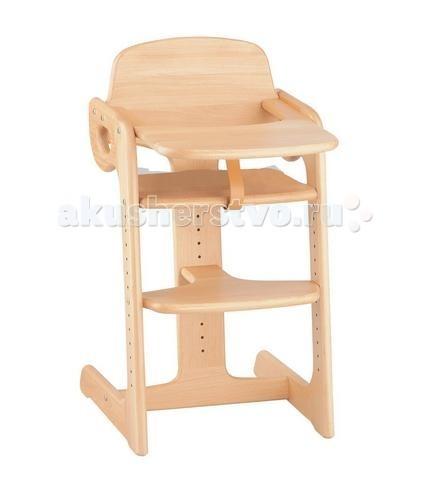 Стульчик для кормления Kettler Tip TopTip TopСтульчик для кормления Kettler Tip Top  Чудесное, а главное выгодное приобретение для вашего малыша, в котором он будет с удовольствием кушать, играть или рисовать. Стульчик имеет регулируемую по высоте столешницу, которую, когда малыш подрастет, можно будет снять, чтобы подвинуть стульчик к вашему общему семейному столу.   Сиденье и подножка также регулируется по высоте по мере роста ребенка. Таким образом, вы сможете использовать изделие довольно длительное время. Kettler Tip Top изготовлен из экологически чистого массива бука, очень прочный и надежный.  Особенности: материал - высококачественный экологически чистый массив бука предназначен для детей от 6 месяцев сиденье удобной формы, регулируется по высоте в нескольких положениях подножка регулируется по высоте в нескольких положениях столешница съемная, регулируемая по высоте ремешок, предотвращающий выскальзывание разделитель для ножек (кожаный) Размеры (дхшхв) 46х88х56 см Глубина сиденья (см) 26 Ширина сиденья (см) 41 Высота сиденья от пола (см) 54.5 Длина шага установки сиденья (см) 3.2 Высота стола от пола (см) 73.5 Вес 13 кг<br>