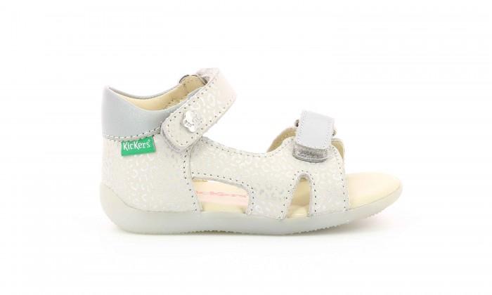 Босоножки и сандалии KicKers Босоножки для девочки 696354-10 босоножки quelle heine 170362