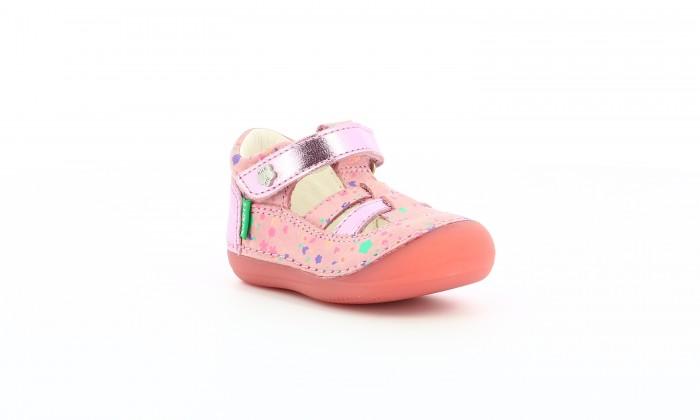 Босоножки и сандалии KicKers Сандалии закрытые для девочек T-Strap Shoe 784847-10