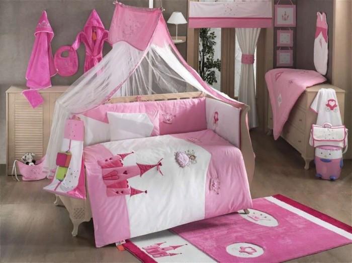 Купить Комплекты в кроватку, Комплект в кроватку Kidboo Little Princess (6 предметов)