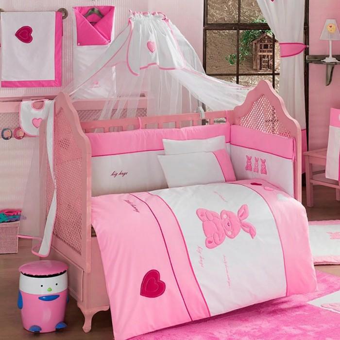 Купить Комплекты в кроватку, Комплект в кроватку Kidboo Little Rabbit (6 предметов)