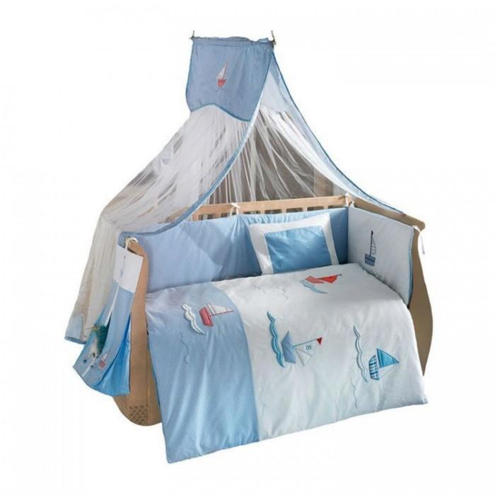 Купить Комплекты в кроватку, Комплект в кроватку Kidboo Marine (6 предметов)