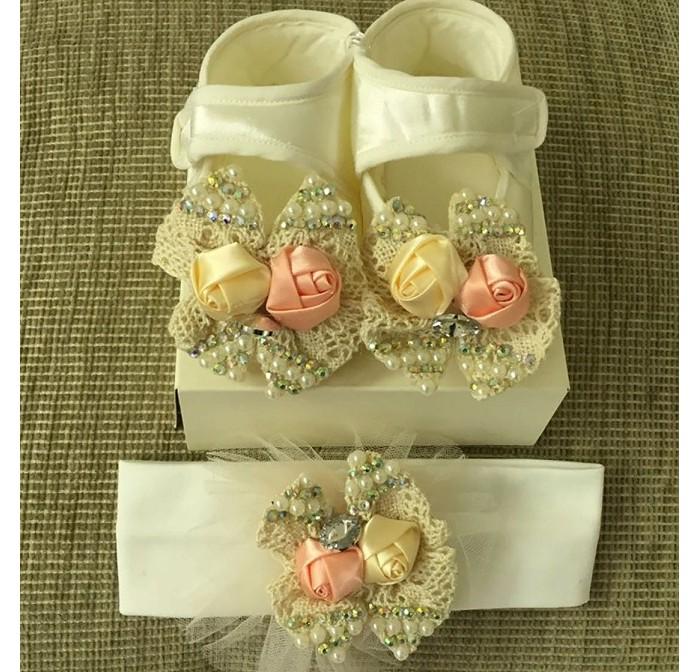 Пинетки Kidboo Подарочный набор Little Gift для девочек LG1