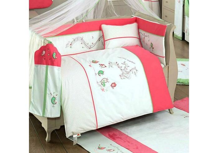 Комплекты в кроватку, Комплект в кроватку Kidboo Singer Birds (6 предметов)  - купить со скидкой