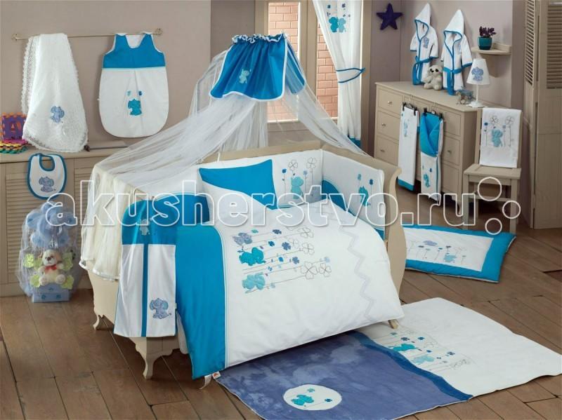 Комплекты в кроватку Kidboo Elephant (6 предметов)