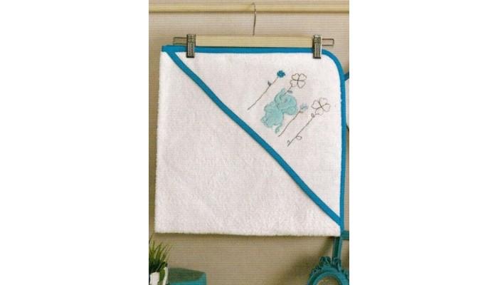 Полотенца Kidboo Комплект полотенце-уголок + варежка Elephants полотенца kidboo комплект полотенце уголок варежка butterfly