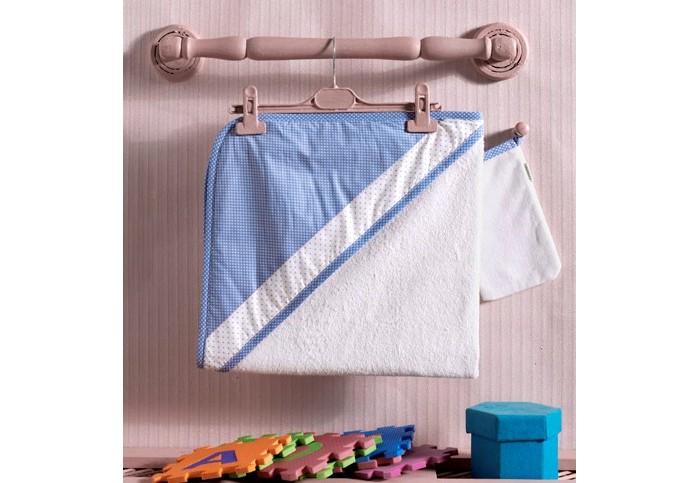 Полотенца Kidboo Комплект полотенце-уголок + варежка Little Farmer полотенца kidboo комплект полотенце уголок варежка butterfly