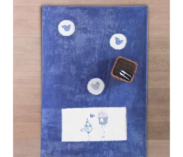 Детская мебель , Аксессуары для детской комнаты Kidboo Ковер Lovely Birds арт: 20316 -  Аксессуары для детской комнаты