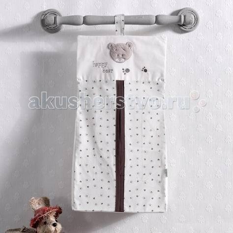 Постельные принадлежности , Карманы и панно Kidboo Прикроватная сумка Cute Bear арт: 45307 -  Карманы и панно