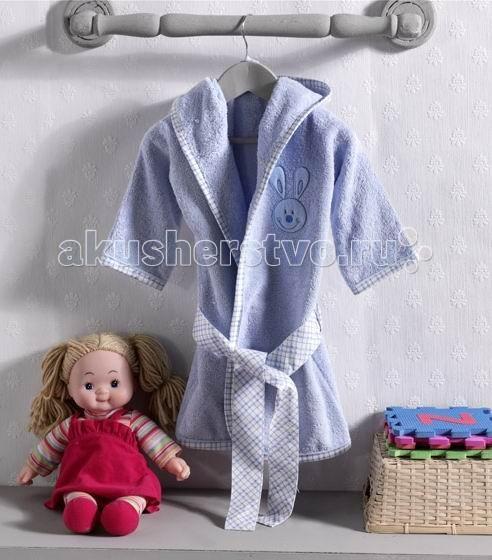 Детская одежда , Халаты Kidboo Rabbitto Blue махровый арт: 45312 -  Халаты