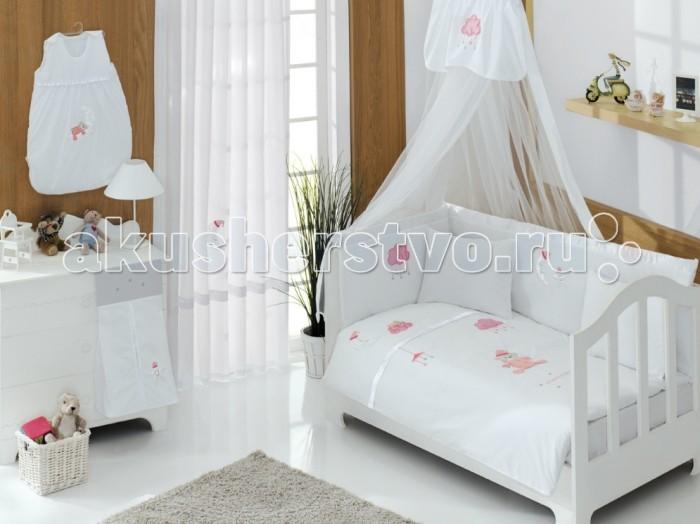 Постельные принадлежности , Постельное белье Kidboo Teddy Boo Premium (3 предмета) арт: 14740 -  Постельное белье
