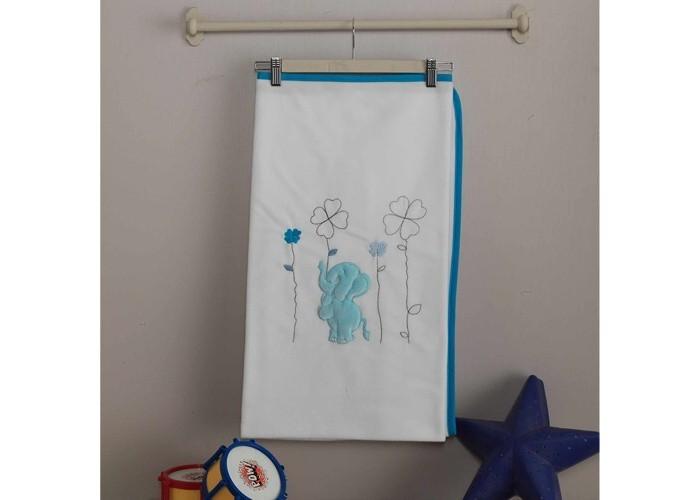 Постельные принадлежности , Пледы Kidboo Elephants велсофт арт: 43496 -  Пледы