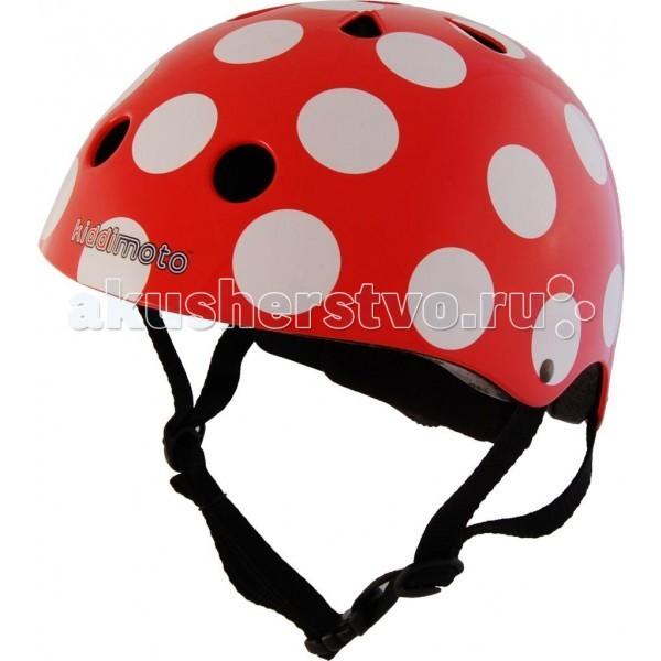 Шлемы и защита KiddiMoto Шлем Божья Коровка, Шлемы и защита - артикул:60137