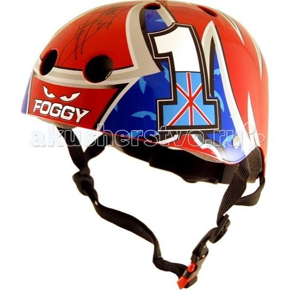 Шлемы и защита KiddiMoto Шлем Carl Fogarty с автографом гонщика