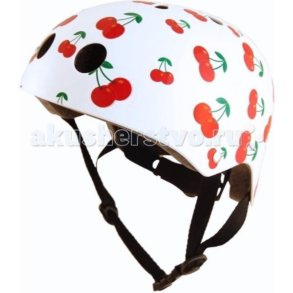 Шлемы и защита KiddiMoto Шлем Вишенки, Шлемы и защита - артикул:60138