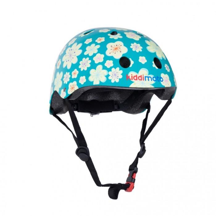 Купить Шлемы и защита, KiddiMoto Шлем детский Цветы