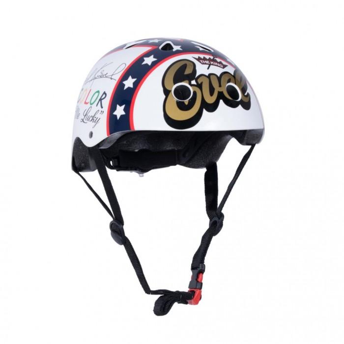 Купить Шлемы и защита, KiddiMoto Шлем детский с автографом гонщика Evel Knievel