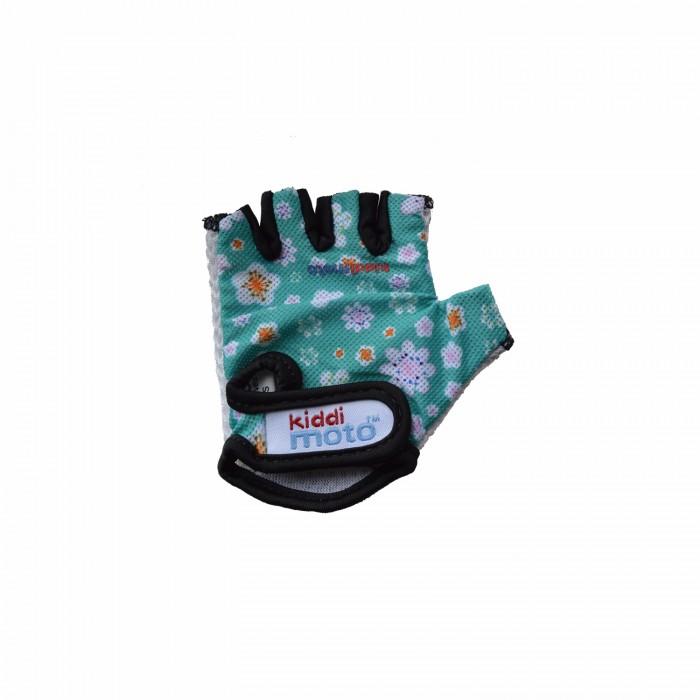 Шлемы и защита KiddiMoto Велоперчатки детские Цветы