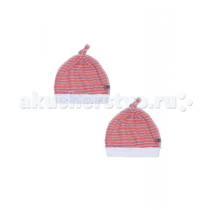Шапочки и чепчики Kiddy Bird Комплект №7 Чепчики в полоску Точки-полоски 2 шт.