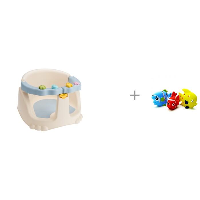 Купить Горки и сиденья для ванн, Kidfinity Сиденье для купания и волшебные водные раскраски В деревне Мозаика kids