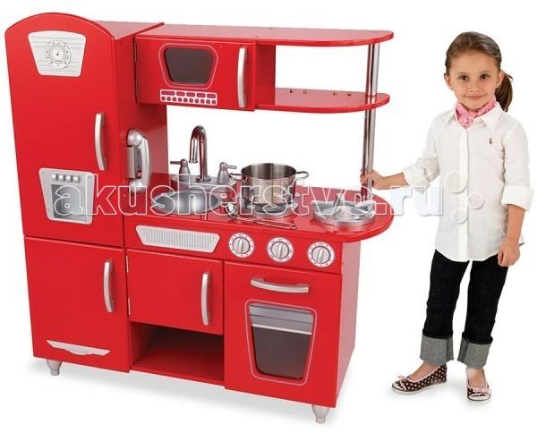 KidKraft Детская игрушечная кухня из дерева Винтаж