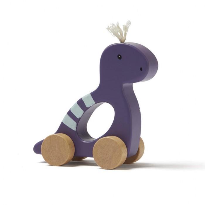 Купить Деревянные игрушки, Деревянная игрушка Kid's Concept Neo Динозавр на колесах