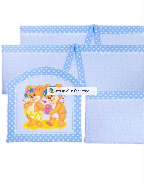 Бортики в кроватку Kids Comfort Maxi Френдс, Бортики в кроватку - артикул:24396
