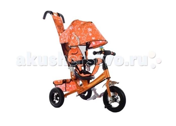 Велосипед трехколесный KidsCool HP-TC-701 надувные колеса