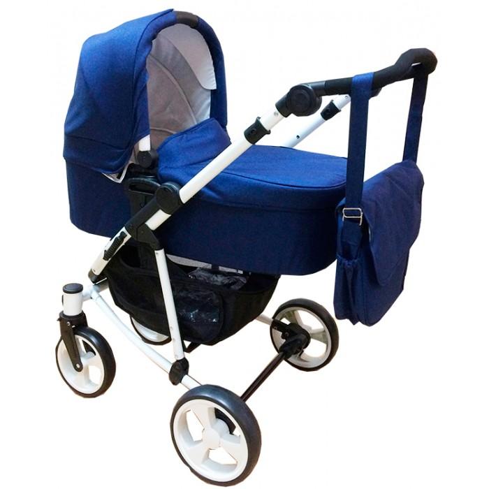 Коляска KidsCool WA18H+SL18 2 в 1WA18H+SL18 2 в 1Коляска KidsCool WA18H+SL18 2 в 1 - универсальная модель с отличной функциональностью.  Особенности: Передние колеса - 8, задние колеса широкие - 9 с тормозом  Прогулочный блок подходит для детей от 6 мес до 15 кг,  Съемная люлька, входит в комплект, подходит детям от рождения до 9 кг  Легкая алюминиевая рама, супер компактная в сложенном положении 5 точечный ремень безопасности 2 положения прогулочного блока вперед или назад  Регулируемая высота ручки от 85-110 см Поворотные передние колеса Корзина, сумка, сетка, дождевик в комплекте<br>