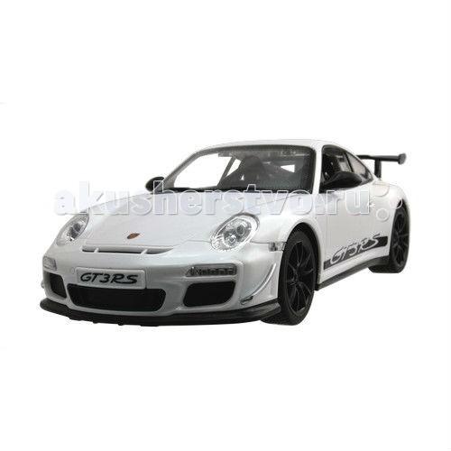 KidzTech Радиоуправляемый автомобиль 1:16 Porsche 911 GT3 RSРадиоуправляемый автомобиль 1:16 Porsche 911 GT3 RSKidzTech Радиоуправляемый автомобиль 1:16 Porsche 911 GT3 RS Модель выполнена по лицензии оригинального производителя и поражает своей натуралистичностью.  Красивый автомобиль мечты понравится жизнерадостному, увлекающемуся ребенку. Устройте дома настоящие гонки, болейте за вашего ребенка – пилота спортивного автомобиля!   Игры с радиоуправляемыми моделями автомобилей развивают мелкую и общую моторику, воображение, целеустремленность и навыки работы в команде.  В наборе: автомобиль на радиоуправлении, пульт, антенна, инструкция, 5 батареек - для модели, 1 батарейка - для пульта дистанционного управления.   Материал: пластик и металл.<br>