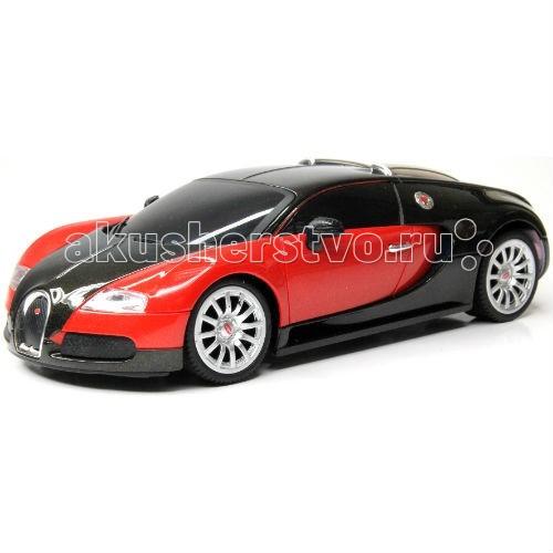KidzTech Радиоуправляемый автомобиль 1:26 Bugatti 16.4 Grand SportРадиоуправляемый автомобиль 1:26 Bugatti 16.4 Grand SportKidzTech Радиоуправляемый автомобиль 1:26 Bugatti 16.4 Grand Sport - отличный выбор для любителей дорогих моделей автомобилей. Модель Grand Sport выполнена в двух цветах: красный и синий. Автомобиль выполнен из высококачественных материалов, не токсичен и безопасен для здоровья Вашего ребенка.  Масштаб: 1:26  Длина модели: 18 см  Требуется: 3 батарейки типа АА (автомобиль), 1 батарейка типа 9V (пульт).  Частота: 27, 40 и 49 МГц  Для детей от 6 лет.<br>
