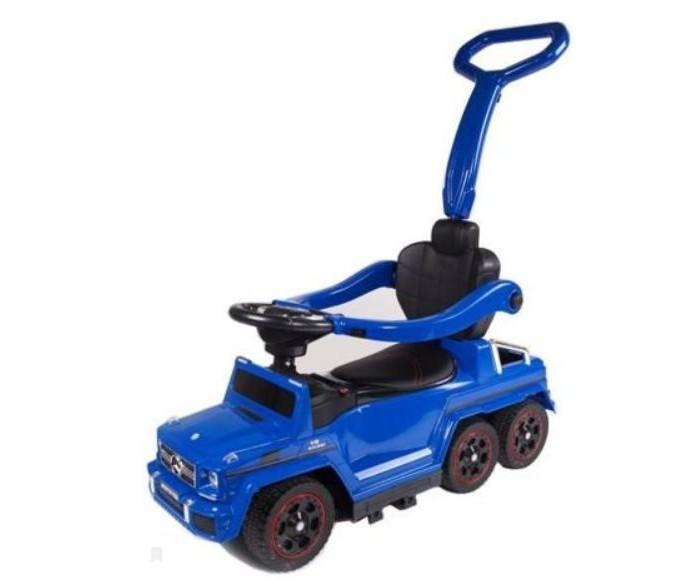 Электромобиль KinderDeti Каталка Mercedes-Benz G63 AMG 6x6 RXL1838-H4Электромобили<br>KinderDeti Электромобиль-Каталка Mercedes-Benz G63 AMG 6x6 RXL1838-H4  Особенности: Грузоподъемность 90 кг (родители могут кататься вместе с детьми) Светящиеся фары Мягкие резиновые колеса (настоящая резина, которая не испортит напольного покрытия у Вас дома) Мягкое сиденье (кожзам) Руль с мелодиями и гудком Mp3 с мелодиями образовательными программами слотом USB и MicroSD FM С ручкой-толкателем (контролирует движение колес) С подставкой для ног (может прятаться под дно автомобиля) Без механизма качания  С аккумулятором 6V/4,5Ah и с мотором 25W.