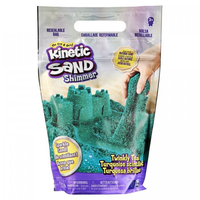 Kinetic Sand Кинетический песок набор для лепки с блестками